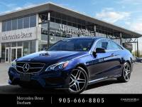 Certified Pre-Owned 2016 Mercedes-Benz E400 Coupe