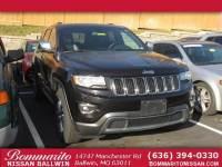 Used 2015 Jeep Grand Cherokee Limited SUV in Ballwin, Missouri