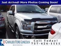 2015 Ford F-150 Lariat Crew Cab Long Bed Truck V8 32V MPFI DOHC Flexible Fuel