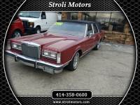 1984 Lincoln Town Car 4dr Sdn Signature