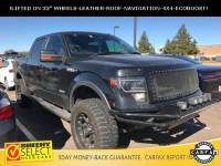 2013 Ford F-150 4 Lift AND 33 Tires- Fully Loaded-Leather-NAV-RO Truck SuperCrew Cab V-6 cyl