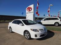 Used 2011 Toyota Corolla S Sedan FWD For Sale in Houston