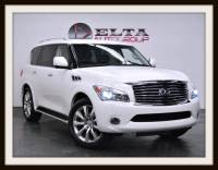 2011 INFINITI QX56 DELUXE TOURING * 4WD * NAVIGATION * DVD * 1 OWNER