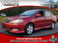 PRE-OWNED 2003 TOYOTA COROLLA S FWD 4D SEDAN
