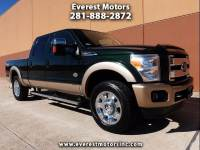 2012 Ford F-250 SD KING RANCH CREW CAB SWB 4WD