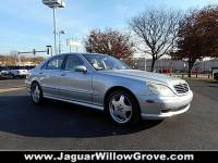 Pre-Owned 2002 Mercedes-Benz S-Class AMG® With Navigation