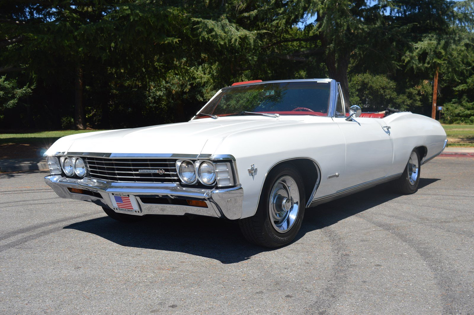 Photo Pre-Owned 1967 Chevrolet Impala SS True SS Convertible Frame Off Restored
