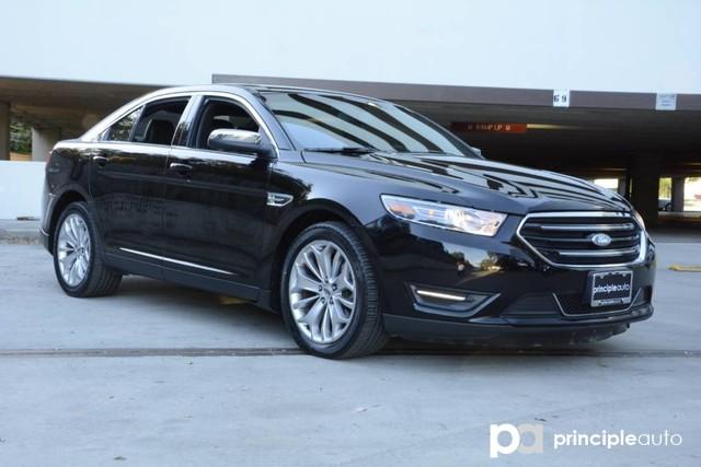 Photo Used 2016 Ford Taurus Limited, Aluminum Wheels, Power Sunroof, Leather S Sedan For Sale San Antonio, TX