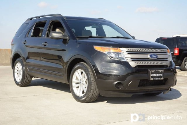 Photo Used 2015 Ford Explorer Base, Aluminum Wheels, Rear Air Conditioning SUV For Sale San Antonio, TX