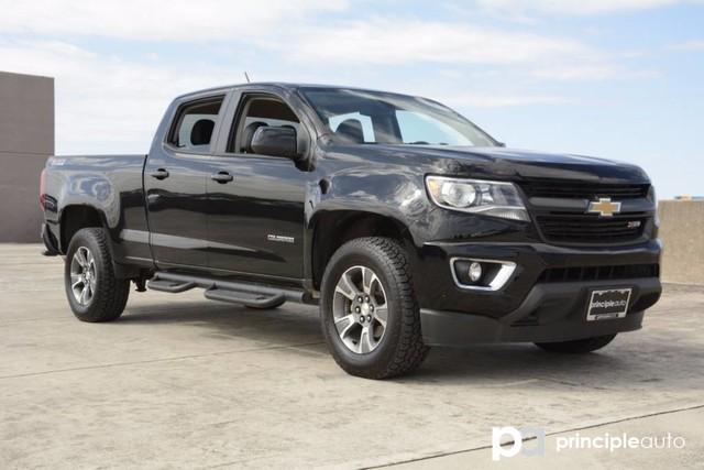 Photo Used 2015 Chevrolet Colorado 4WD Z71, 3.6L V6 Engine, Aluminum Alloy Wheels, Fi Truck Crew Cab For Sale San Antonio, TX