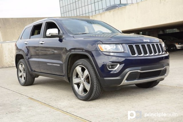 Photo Used 2014 Jeep Grand Cherokee Limited, Navigation, Power Sunroof. SUV For Sale San Antonio, TX
