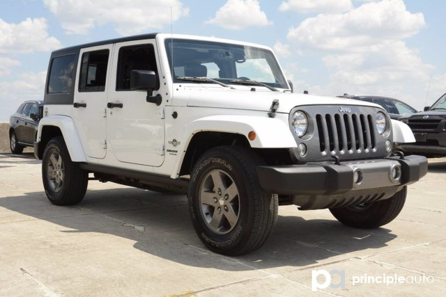 Photo Used 2015 Jeep Wrangler Unlimited Freedom Edition, Hard Top. SUV For Sale San Antonio, TX