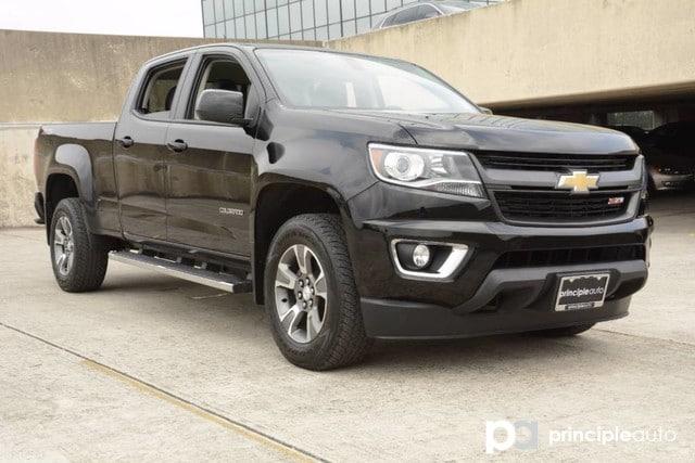 Photo Used 2016 Chevrolet Colorado 4WD Z71, 3.6L V6 Engine, Aluminum Alloy Wheels, Fi Truck Crew Cab For Sale San Antonio, TX