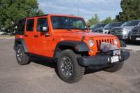 Pre-Owned 2015 Jeep Wrangler Unlimited Rubicon 4x4 SUV in Fort Collins, CO