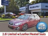 2015 Subaru Impreza 2.0i Sport Limited w/Leather/LOW Miles Wagon