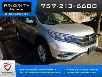 Certified Pre-Owned 2015 Honda CR-V EX-L SUV in Chesapeake, VA, near Virginia Beach
