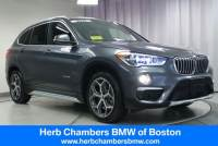 Pre-Owned 2017 BMW X1 Xdrive28i Sports Activity Vehicle SAV in Boston, MA