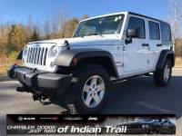 CERTIFIED PRE-OWNED 2014 JEEP WRANGLER UNLIMITED SPORT 4WD