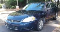 2008 Chevrolet Impala Police Unmarked 4dr Sedan