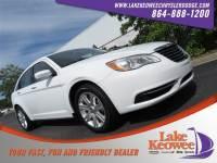 Used 2013 Chrysler 200 Touring Sedan For Sale Near Anderson, Greenville, Seneca SC