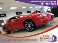 Used 2002 Chevrolet Camaro Z28 Coupe For Sale Near Anderson, Greenville, Seneca SC