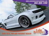 Used 2013 Chevrolet Camaro SS Convertible For Sale Near Anderson, Greenville, Seneca SC
