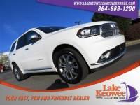 Used 2017 Dodge Durango Citadel Citadel AWD For Sale Near Anderson, Greenville, Seneca SC
