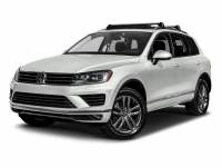 Certified Pre-Owned 2017 Volkswagen Touareg Wolfsburg Edition With Navigation & AWD