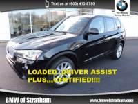 2015 BMW X3 xDrive28i xDrive28i DRIVER ASST PLUS COLD WEATHER LIGHTING P SAV All-wheel Drive