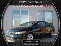 2008 Honda Civic EX Coupe AT with Navigation