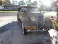 1936 Ford Phaeton 4-Door