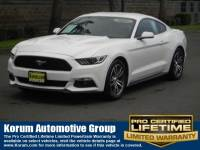 2016 Ford Mustang Ecoboost Coupe 4 cyls
