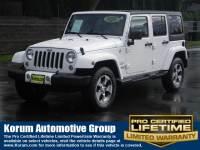 2016 Jeep Wrangler Unlimited Sahara SUV V6