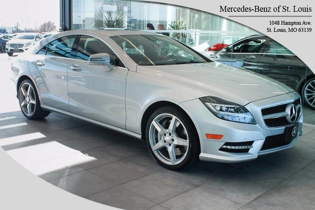 Photo Pre-Owned 2013 Mercedes-Benz CLS-Class CLS 550 Coupe For Sale St. Louis, MO