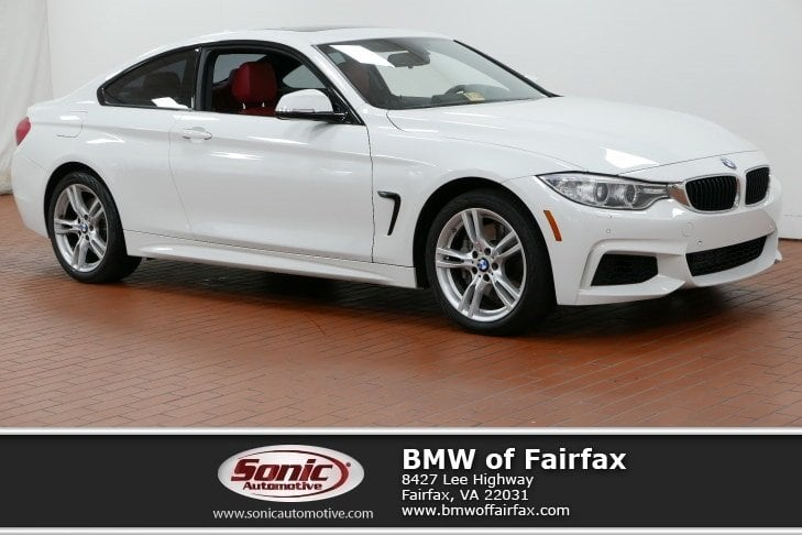 Photo Certified Used 2015 BMW 435i xDrive Coupe Coupe in Fairfax, VA