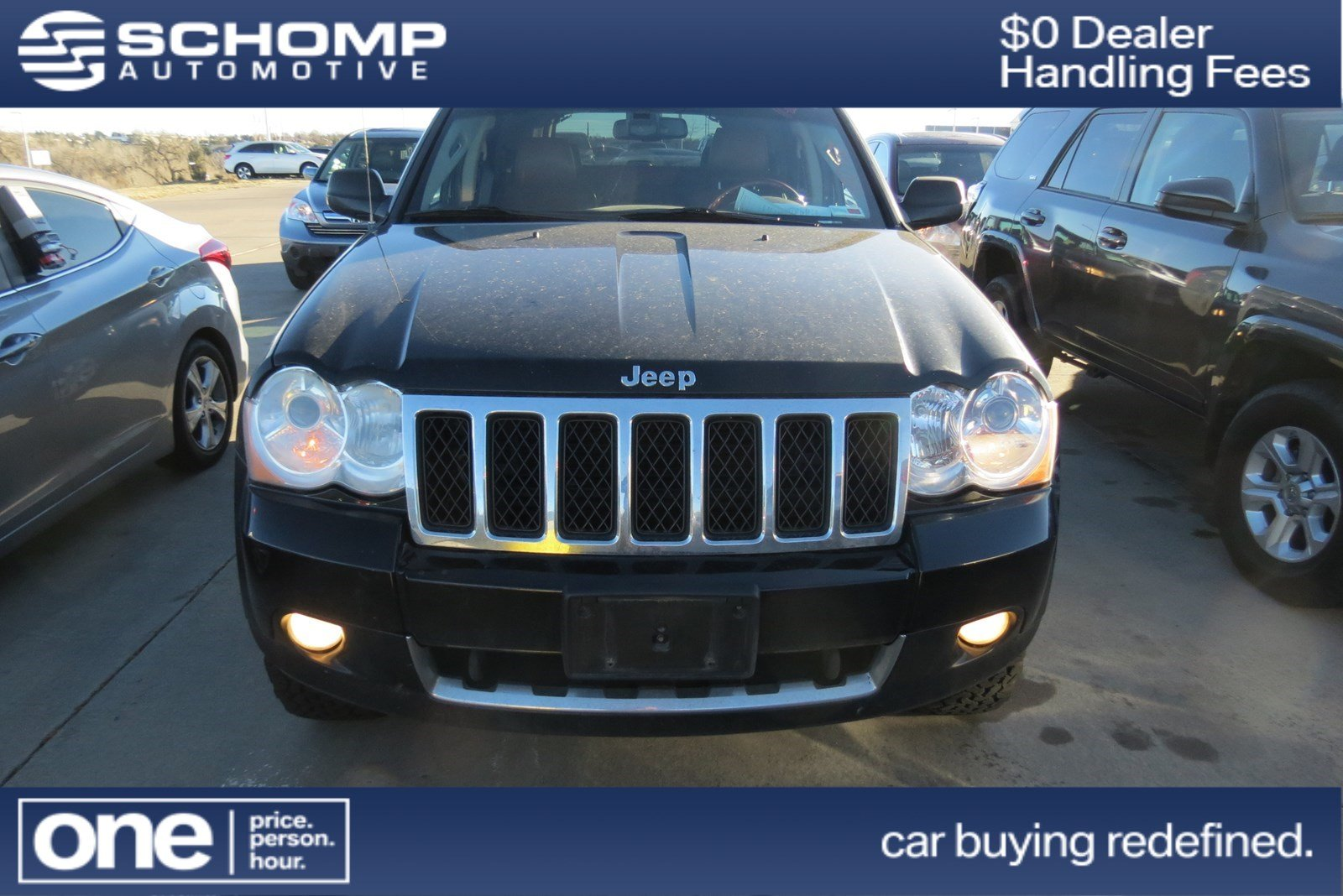 Photo Pre-Owned 2008 Jeep Grand Cherokee Overland With Navigation  4WD