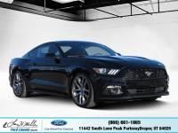 Certified 2015 Ford Mustang EcoBoost Premium Fastback EcoBoost Premium in Draper