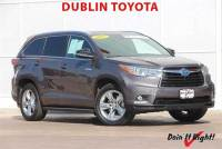 Certified Pre-Owned 2015 Toyota Highlander Hybrid Limited Platinum SUV in Dublin, CA