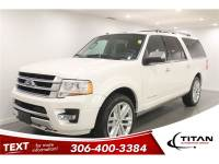 2016 Ford Expedition Max Platinum 8 Pass Leather 4X4 Nav Remote Starter