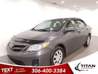 2013 Toyota Corolla Auto Heated Mirrors Local Low Kms
