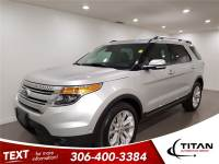 2014 Ford Explorer Limited AWD DVD Cam Nav Heated Leather Sunroof