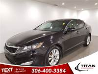 2012 Kia Optima EX Auto Cam Leather Sunroof Heated Seats PST Paid