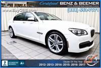 2014 BMW 7 Series 750Li 4dr Sedan