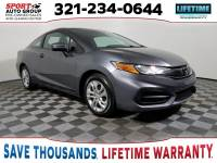 Pre-Owned 2014 Honda Civic LX FWD 2D Coupe
