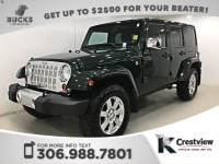 Pre-Owned 2012 Jeep Wrangler Unlimited Sahara | Heated Seats | Navigation | Remote Start 4WD Convertible