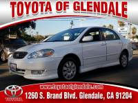 Used 2004 Toyota Corolla, Glendale, CA, , Toyota of Glendale Serving Los Angeles | 1NXBR32E54Z335130