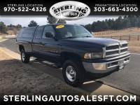 2000 Dodge Ram 1500 Club Cab 8-ft. Bed 4WD