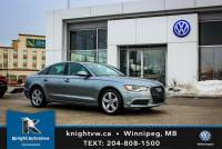Pre-Owned 2013 Audi A6 Quattro w/ Leather/Sunroof/Backup Cam AWD 4dr Car