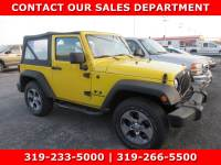 Used 2007 Jeep Wrangler X 4WD X for Sale in Waterloo IA