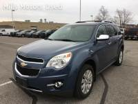Pre-Owned 2011 Chevrolet Equinox LTZ 3.0L V6 AWD Bluetooth Backup Cam Leather Pioneer Sound System